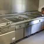 sauteuses zone de cuisson cuisine professionnelle