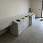 rampe à plateaux zone de distribution cuisine professionnelle