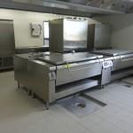 zone de cuisson cuisine professionnelle