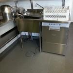 plonge Zone de laverie en cuisine professionnelle