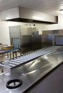Cuisine professionnelle collège Henri Dheurle